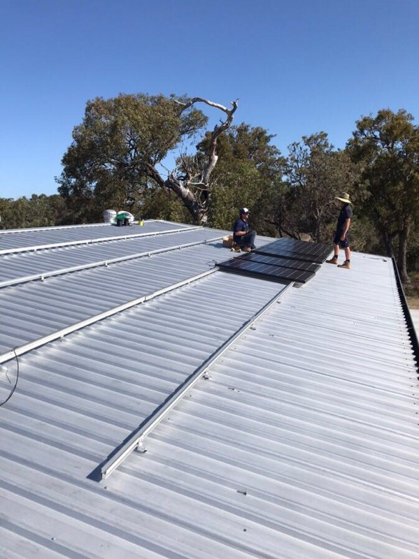 Solar Installation project Perth